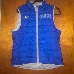 Nike Women Duke University puff reversible vest L
